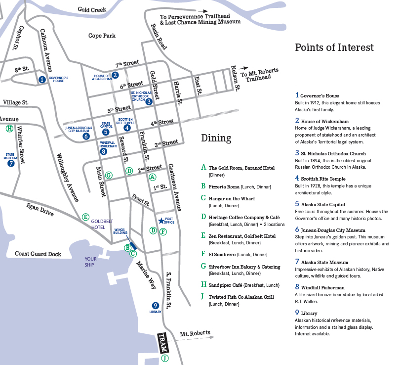 Map Of Juneau Alaska Submited Images